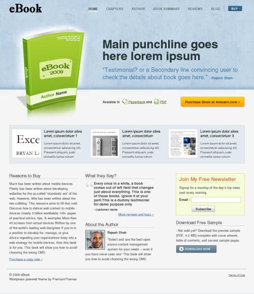 ebook-wordpress-theme