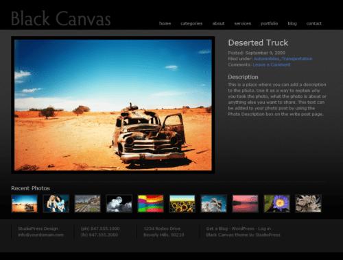 black-canvas-wpthemes-dont-copy-this-image