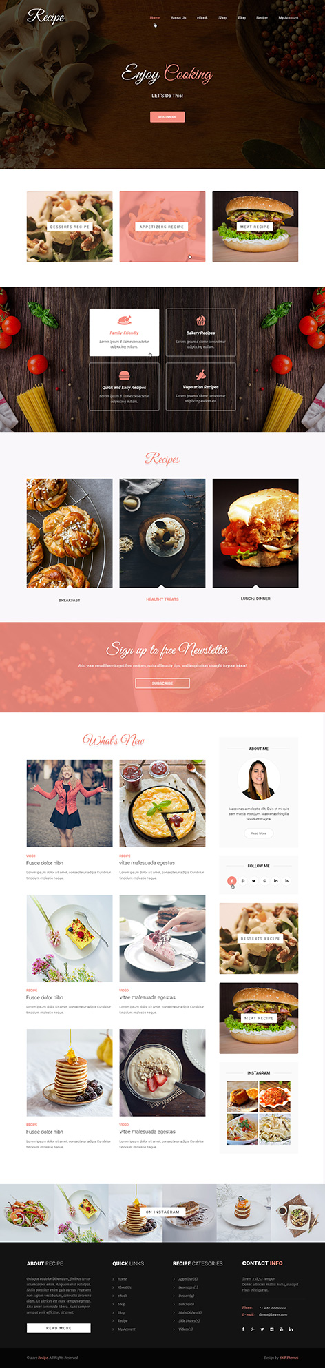 khana khazana WordPress theme