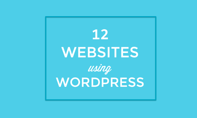Top 12 Indian Websites Using WordPress