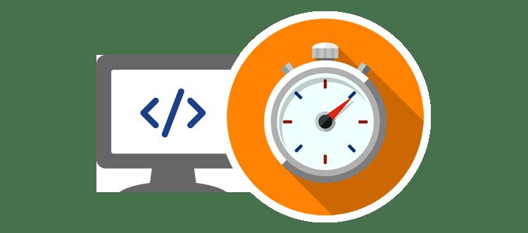 Websites speed up