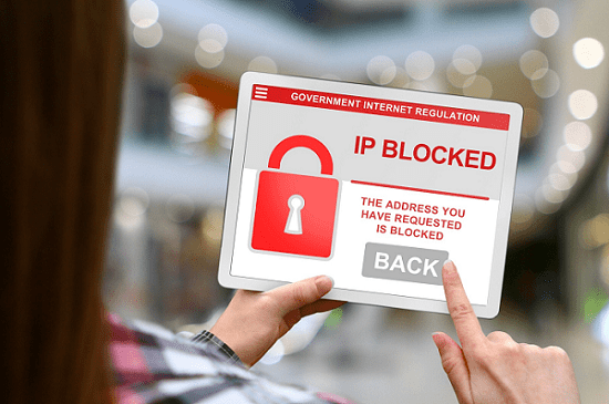 block ip address