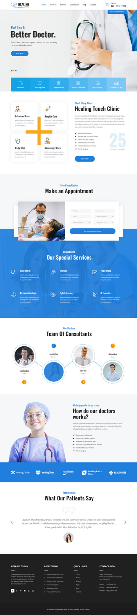 responsive medical WordPress theme2