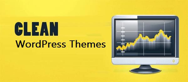 clean wordpress themes
