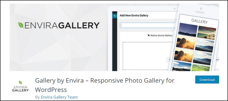 Gallery by Envira