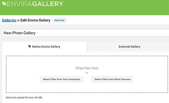 create image gallery