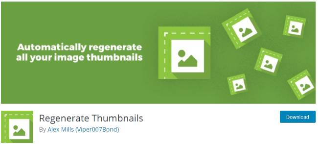 Regenerate Thumbnails