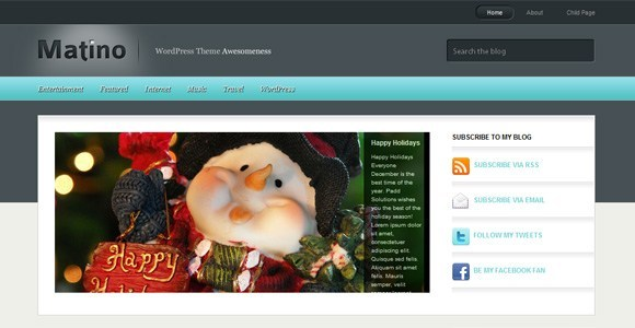 Matino WordPress Theme