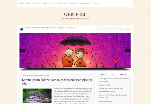 Bronte WordPress Theme