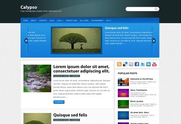 Calypso WordPress Theme