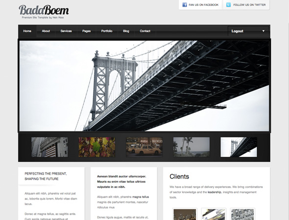 BadaBoem - Premium WordPress Theme