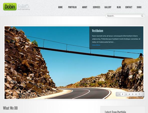 Dobin Folio - Photography & Corporate WP CMS