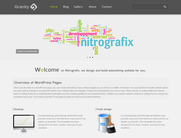 Granity WordPress Theme