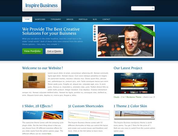 Inspire Business - Premium Corporate WP Theme