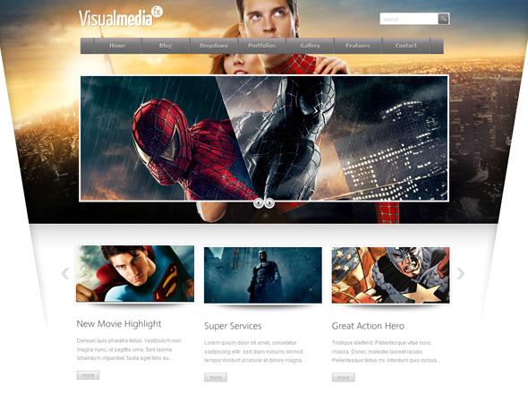 VisualMedia Special FX WordPress Theme