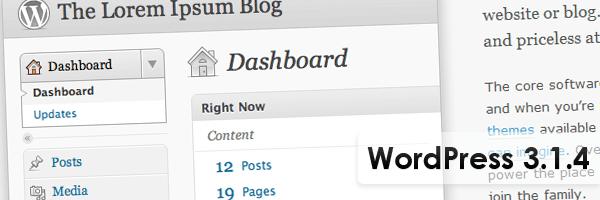 WordPress 3.1.4