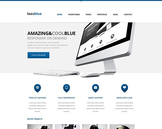 Coolblue - Responsive Multipurpose Theme