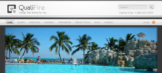 QualiFire WordPress Theme