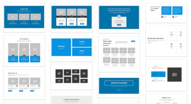 Donc, vous voulez créer des compositions de blocs?