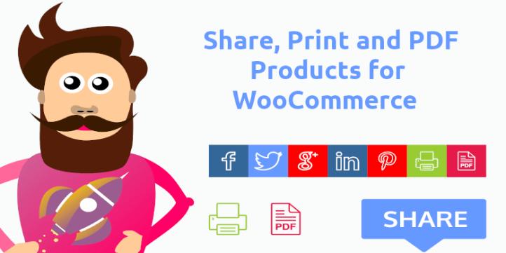 Share Print Pdf For Woocommerce
