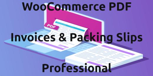 Woocommerce Pdf Invoice Packing Slips