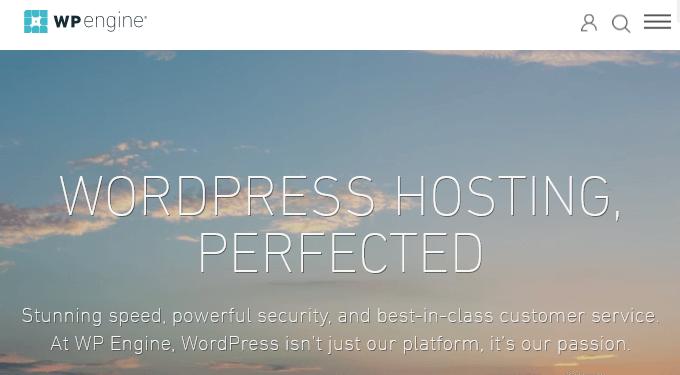 WP Engine - Managed WordPress Hosting