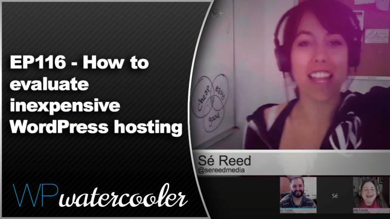 EP116 How to evaluate inexpensive WordPress hosting Dec15 2014