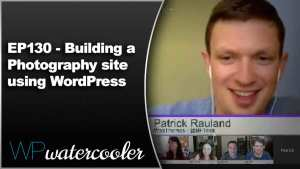 EP130 Building a Photography site using WordPress
