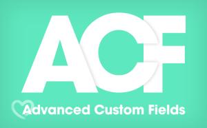 Advanced Custom Fields 4