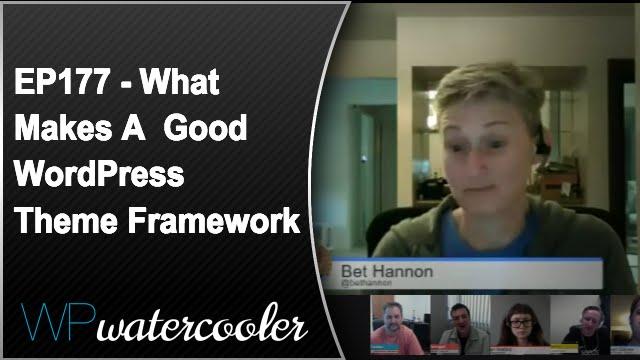 Ep177 - what makes a good wordpress theme framework? 9