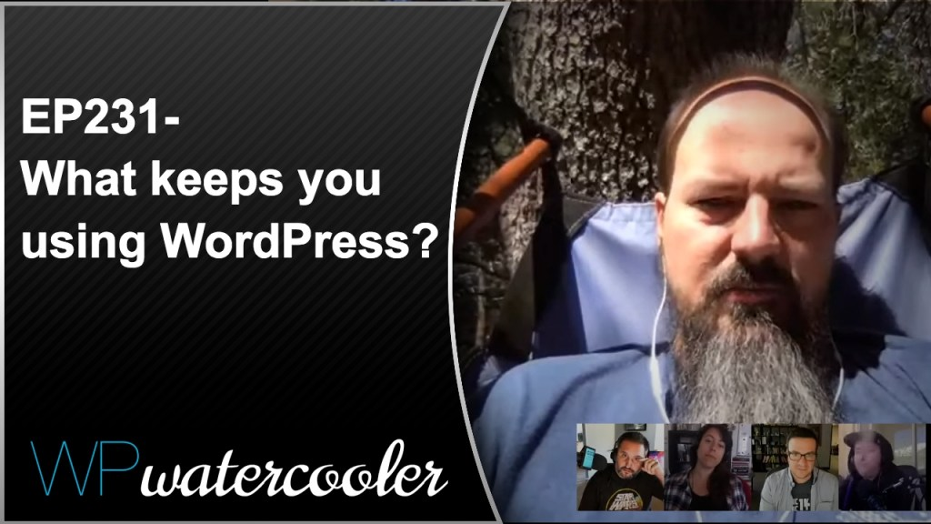 Ep231 - what keeps you using wordpress? 3