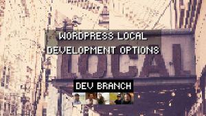 Dev Branch WordPress Local Development Options