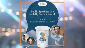 EP175 Public Speaking in a Socially Distant World