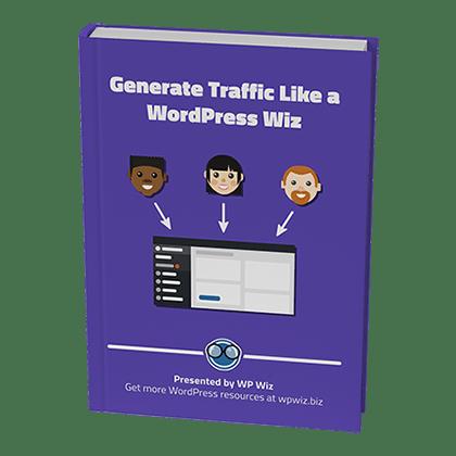 WordPress Website Traffic Ebook Guide