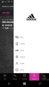Adidas hamburger