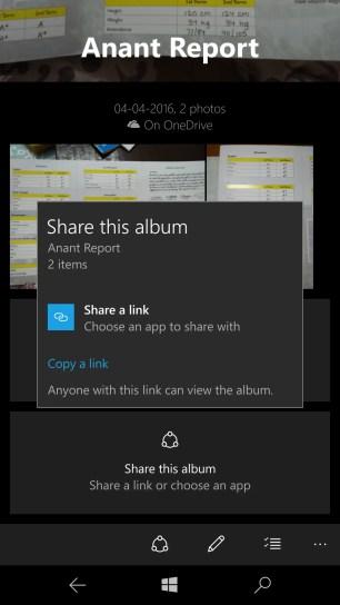 Create OneDrive Albums Windows 10 Photo App 6