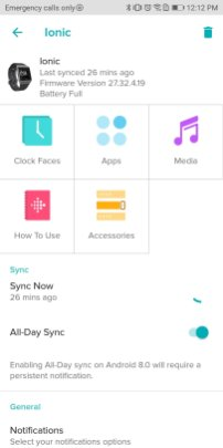 Fitbit App and Clock Faces 1