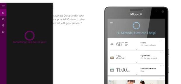 Invoking Cortana W10