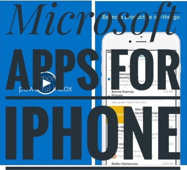 Microsoft Apps for iPhone
