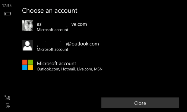 Multiple MS Account for Apps 3