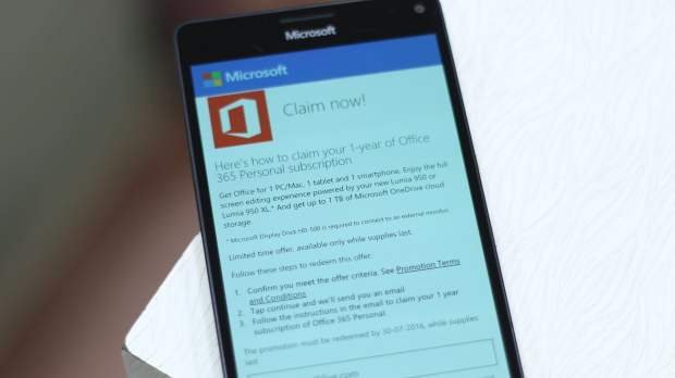 Office 365 Offers on Lumia