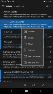 Outlook Email Preview Text Mobile 2
