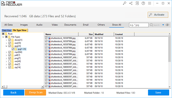 Remo Recover Recover Files