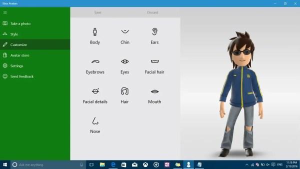 Xbox Avatars Customize