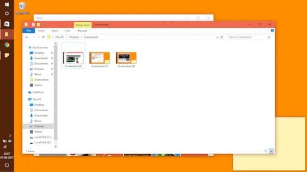 Autosave Screenshots in Windows 10