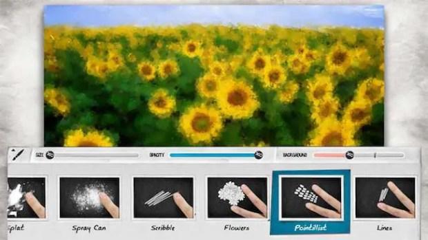 lazy Paint Windows ink APP