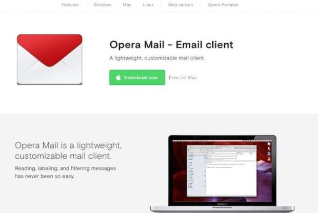Opera Email Client for Windows