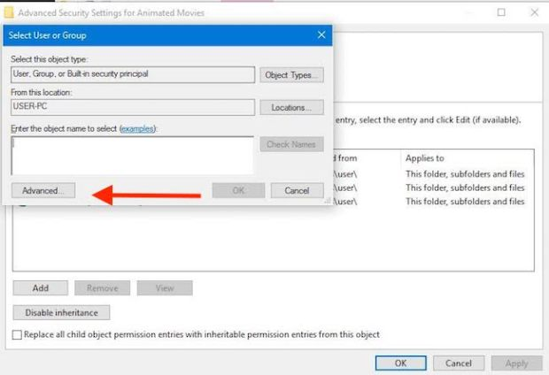 file-permission-windows10