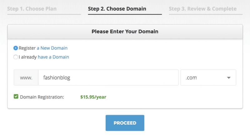 Domain name.