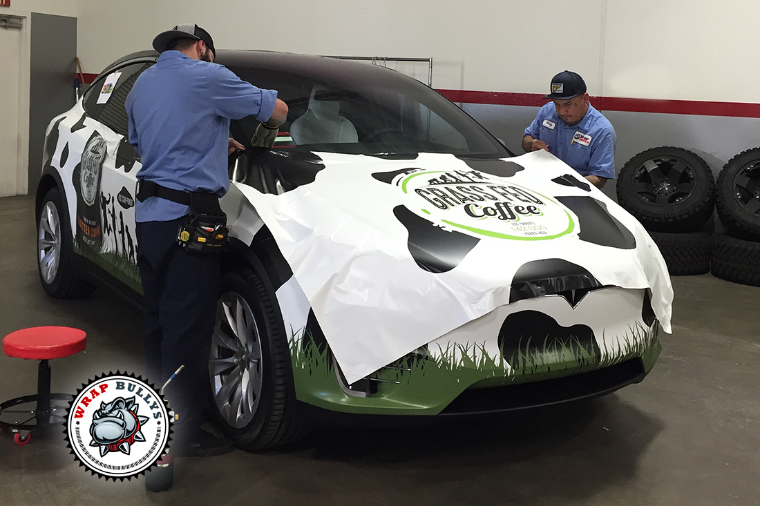 Custom vehicle wraps. Call today for pricing on your car wrap.